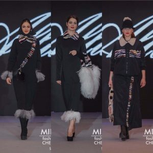 Показ Allu-R дизайнер Алена Люлька MIFIDA fashion day март 2017 год.